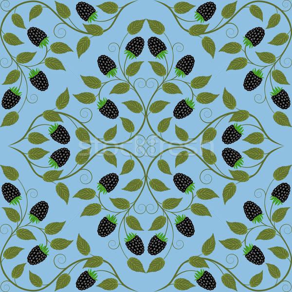 Abstract senza soluzione di continuità floreale pattern retro natura Foto d'archivio © AbsentA