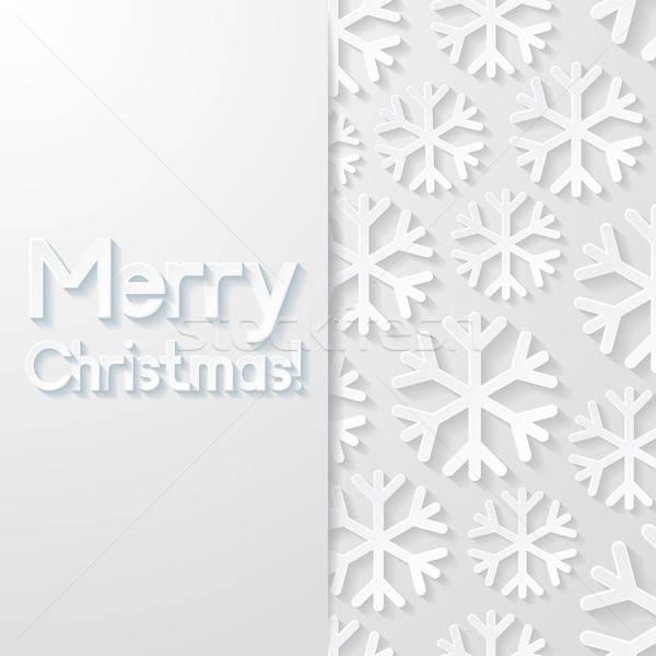 Natal cartão projeto arte retro papel de parede Foto stock © AbsentA