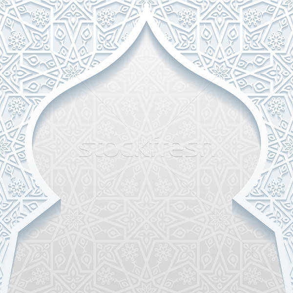 Abstract traditioneel ornament bloem papier textuur Stockfoto © AbsentA