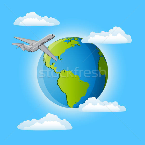 Trip around the world Stock photo © AbsentA