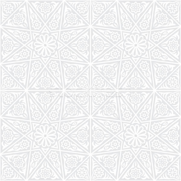 Traditioneel ornament textuur ontwerp behang Stockfoto © AbsentA