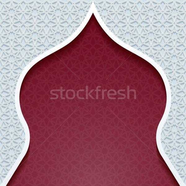 Résumé traditionnel ornement design rétro wallpaper Photo stock © AbsentA