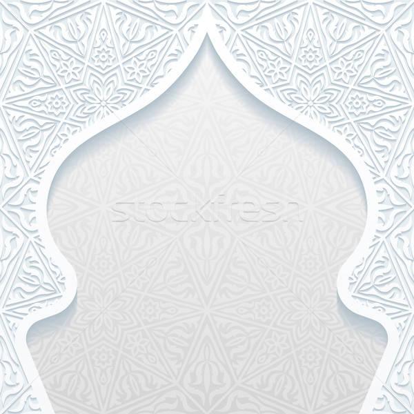 Résumé traditionnel ornement design wallpaper asian Photo stock © AbsentA