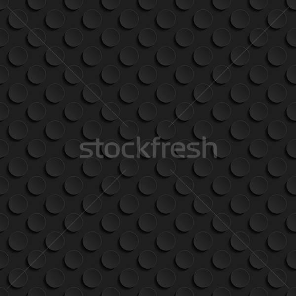 бесшовный геометрическим рисунком черный Vintage шаблон тень Сток-фото © AbsentA
