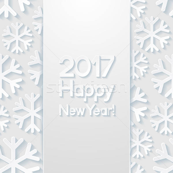 New year greeting card Stock photo © AbsentA