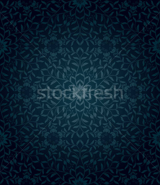 Stock photo: Seamless floral background