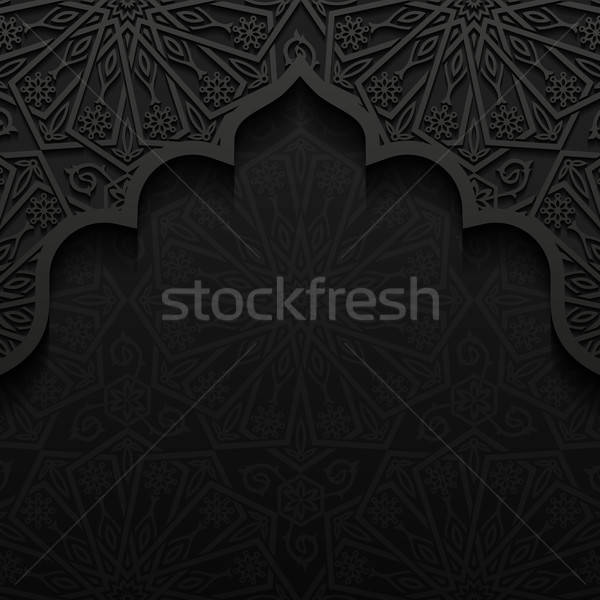 Stockfoto: Abstract · traditioneel · ornament · papier · textuur · achtergrond