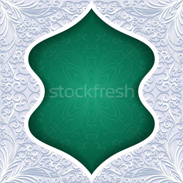аннотация традиционный орнамент бумаги дизайна кадр Сток-фото © AbsentA
