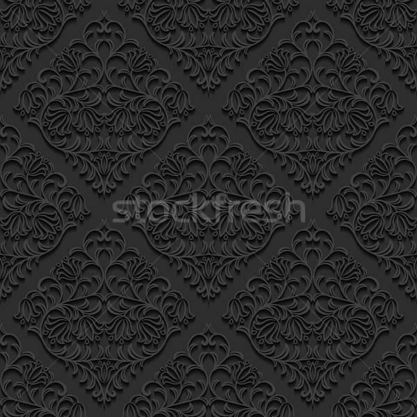 Seamless floral pattern. Vector illustration. Stock photo © AbsentA