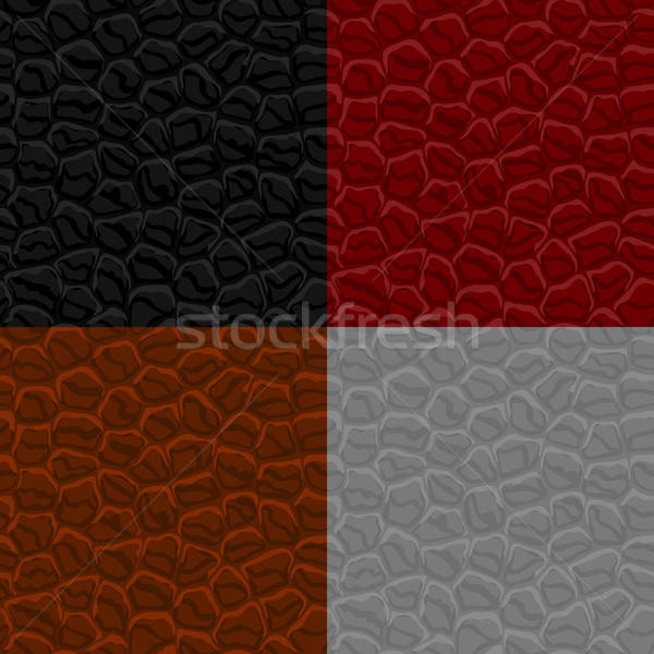 Seamless leather texture Stock photo © AbsentA