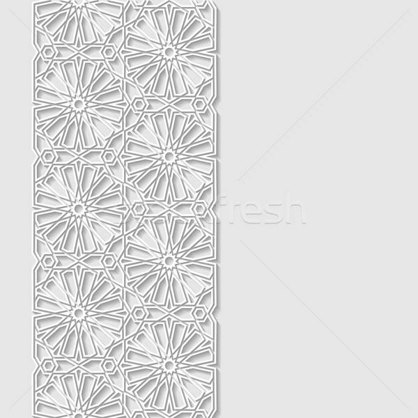 Abstract traditioneel ornament achtergrond asian vintage Stockfoto © AbsentA