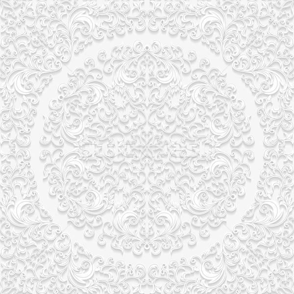Naadloos patroon traditioneel stijl papier Stockfoto © AbsentA