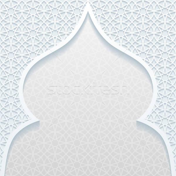 аннотация традиционный орнамент дизайна ретро обои Сток-фото © AbsentA