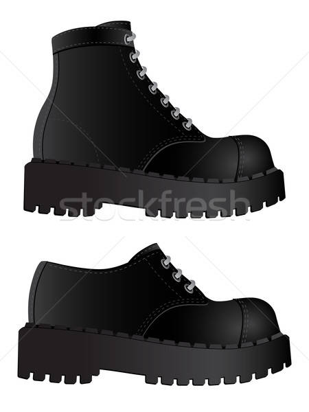 Isolated image of a boots Stock photo © AbsentA