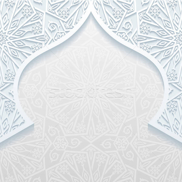 Abstract background with traditional ornament Stock photo © AbsentA