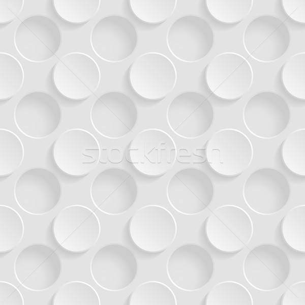 Cirkels vintage patroon schaduw plastic Stockfoto © AbsentA