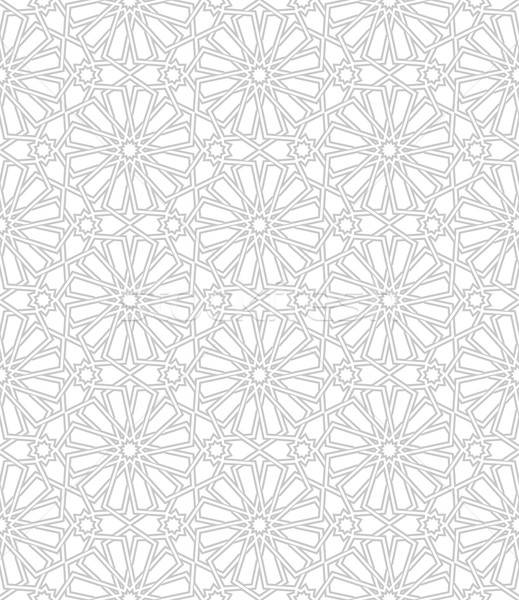 Seamless pattern with traditional ornament Stock photo © AbsentA