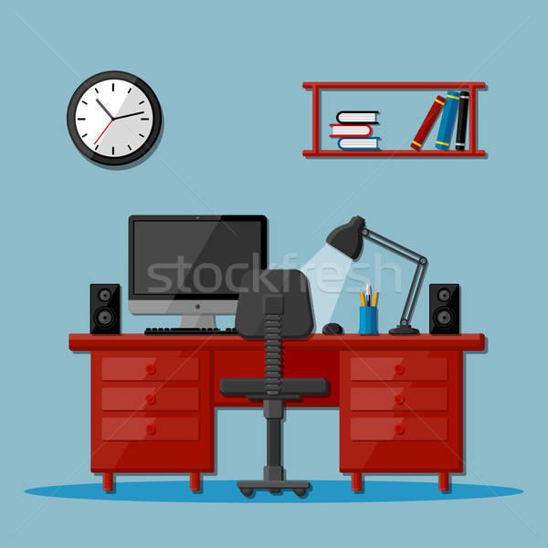 современных бизнеса служба workspace работу пер Сток-фото © AbsentA