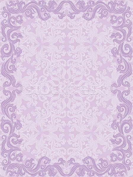 Decoratief frame bloem abstract achtergrond Stockfoto © AbsentA