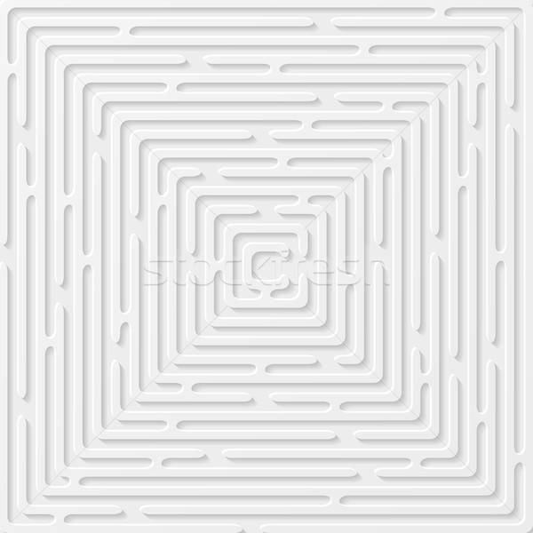Abstract background with labyrinth. Vector illustration Stock photo © AbsentA