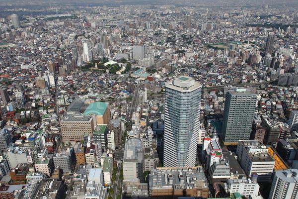 Токио птиц глаза мнение Панорама улиц Сток-фото © AchimHB