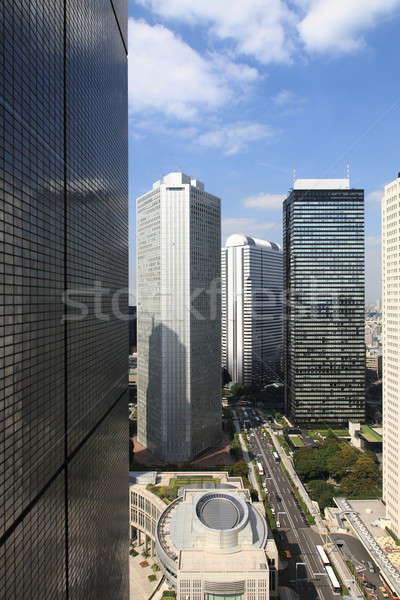 Tokyo City around city hall Stock photo © AchimHB