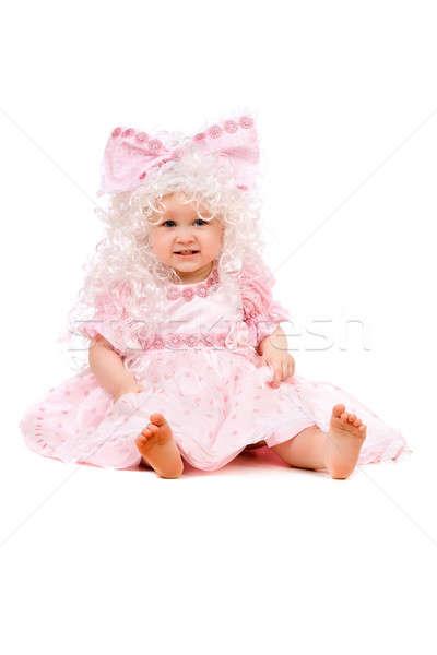 Funny baby girl Stock photo © acidgrey