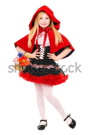 Pretty Little Red Riding Hood Stock photo © acidgrey
