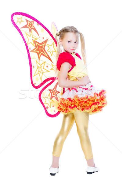 Nice little blond girl Stock photo © acidgrey