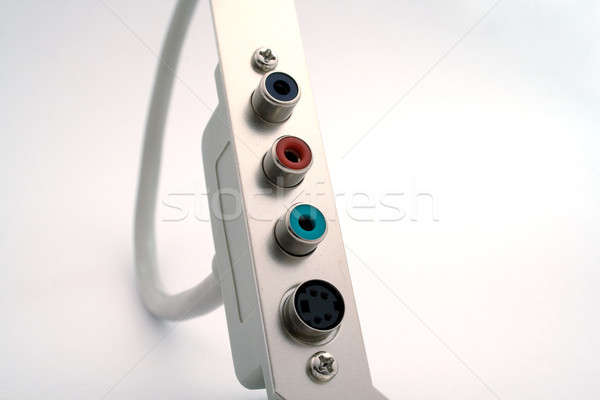 video adapter on a white background. isolated Stock photo © acidgrey