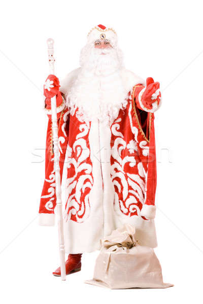 Ded Moroz (Father Frost). Isolated Stock photo © acidgrey