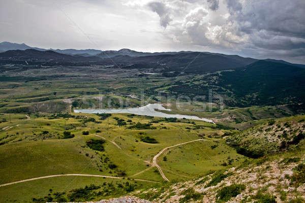 Landscape of a mountain valley in Crimea, Ukraine Stock photo © acidgrey