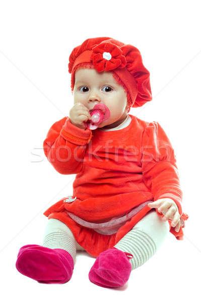 Nice baby girl Stock photo © acidgrey