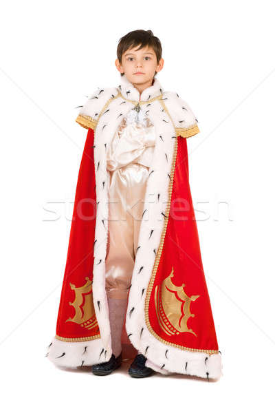 Boy dressed in a robe Stock photo © acidgrey