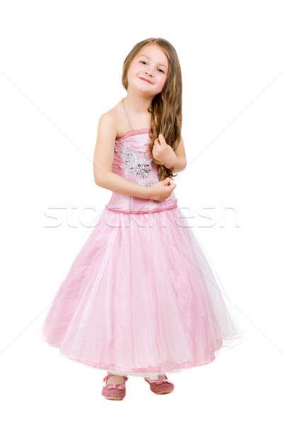 Cheerful little girl Stock photo © acidgrey