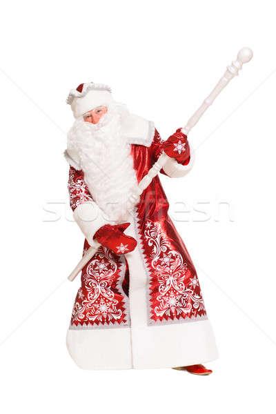 Playful Santa Claus Stock photo © acidgrey