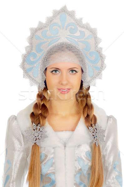beautiful Snow Maiden Stock photo © acidgrey