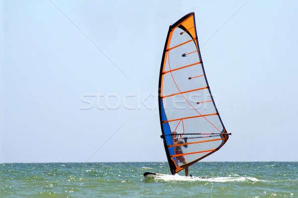windsurfer on the sea Stock photo © acidgrey