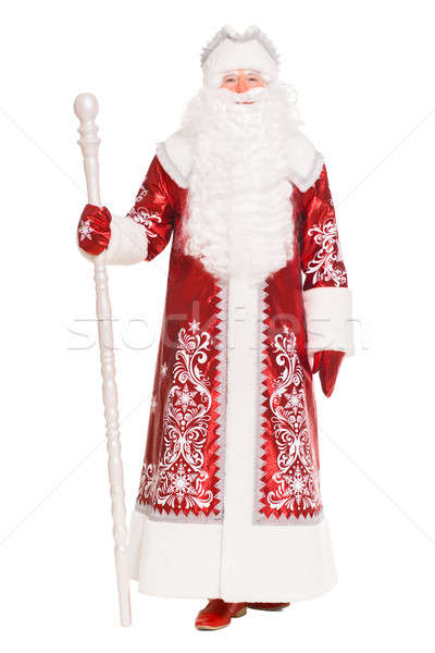 Santa Claus wearing red coat Stock photo © acidgrey