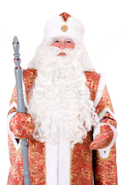 Russian Christmas character Ded Moroz (Father Frost) Stock photo © acidgrey