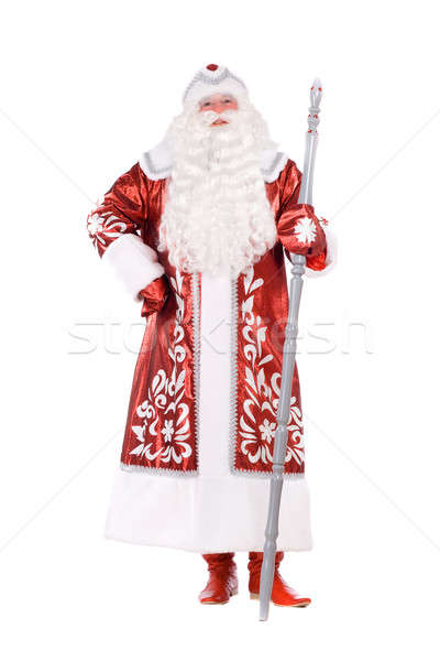 Ded Moroz. Isolated on white Stock photo © acidgrey