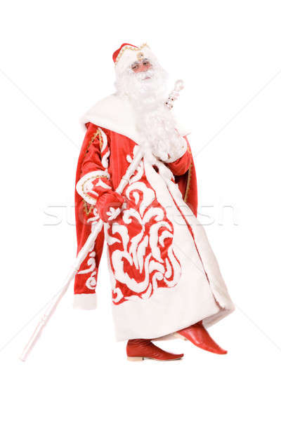 Funny Ded Moroz Stock photo © acidgrey
