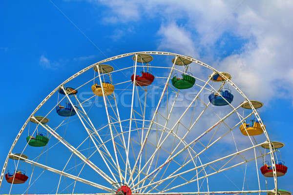 Ferris wheel Stock photo © acidgrey