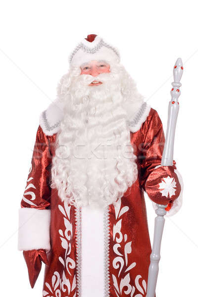 Portrait of a Russian Christmas character Stock photo © acidgrey