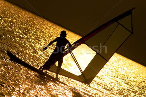 Windsurfe Stock photo © acidgrey