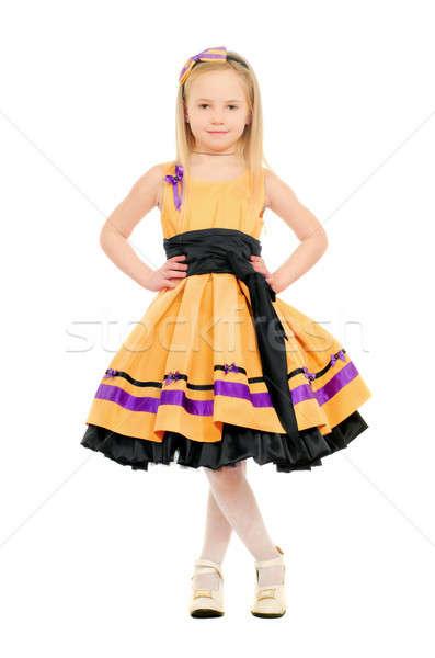 Adorable little girl Stock photo © acidgrey