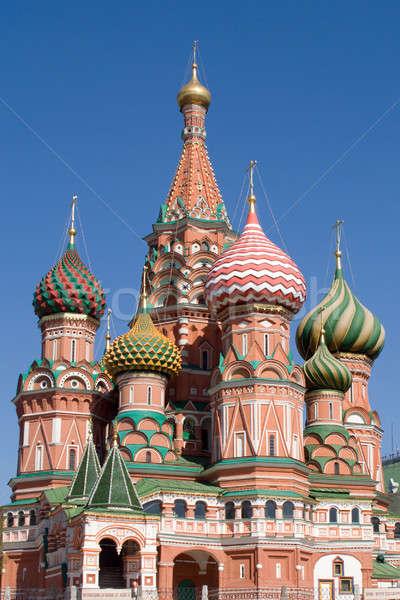 Saint cathédrale église Moscou ville rouge Photo stock © acidgrey