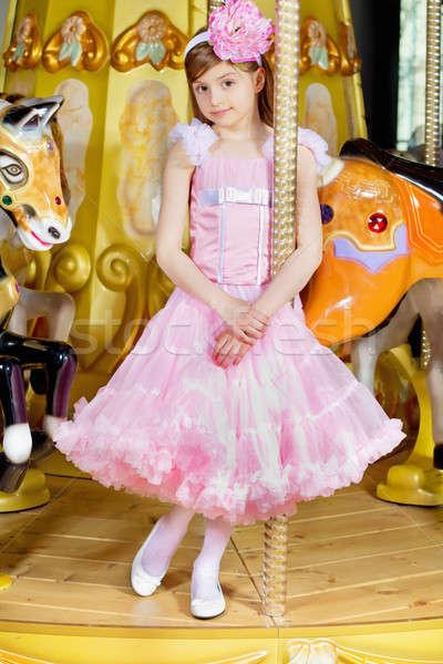 Stock photo: Pretty little girl