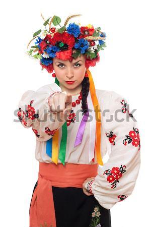 Zdjęcia stock: Portret · pretty · woman · kobieta · moda · piękna · sztuki