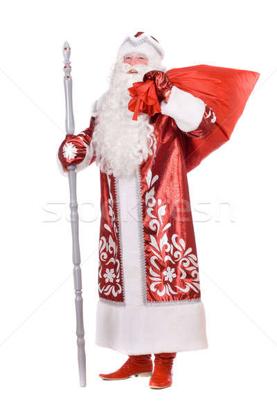 Ded Moroz with the bag Stock photo © acidgrey